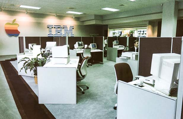 Electronic Office location in 1984