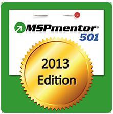 MSPmentor 501 2013 Award