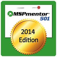 MSPmentor 501 2014 Award